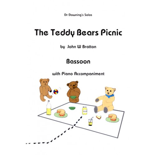 Teddy Bears Picnic for Bassoon