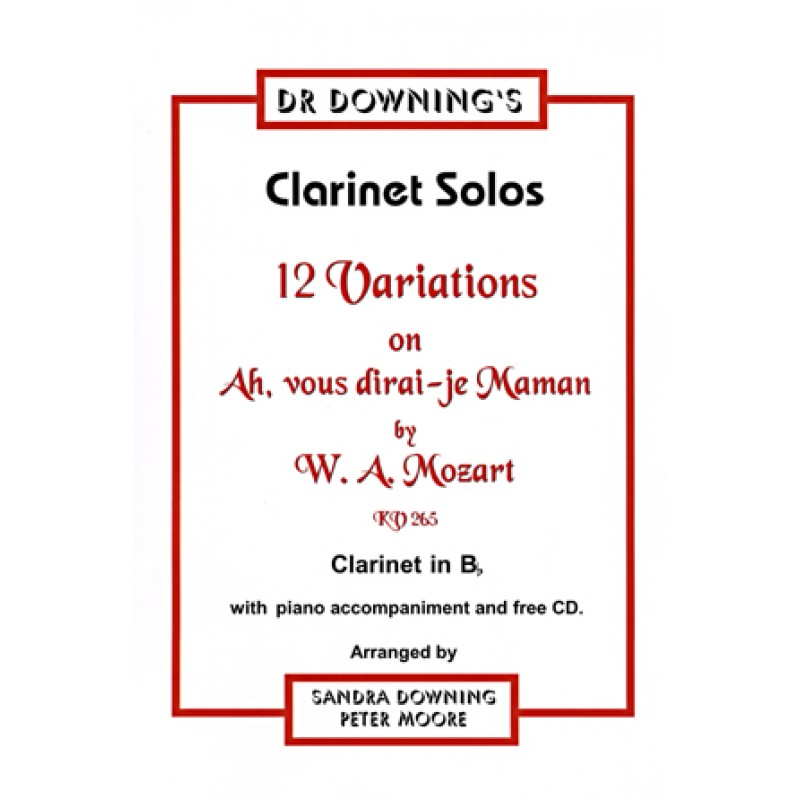 Clarinet Mozart Solo