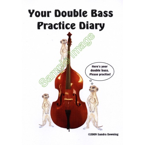 Double Bass Practice Diary