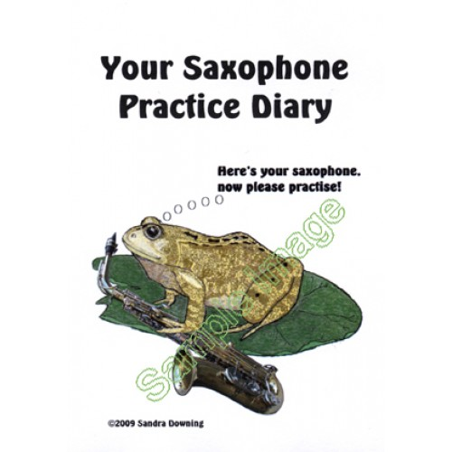 Saxophone and Frog Practice Diary