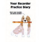 Spaniel and Recorder Practice Diary