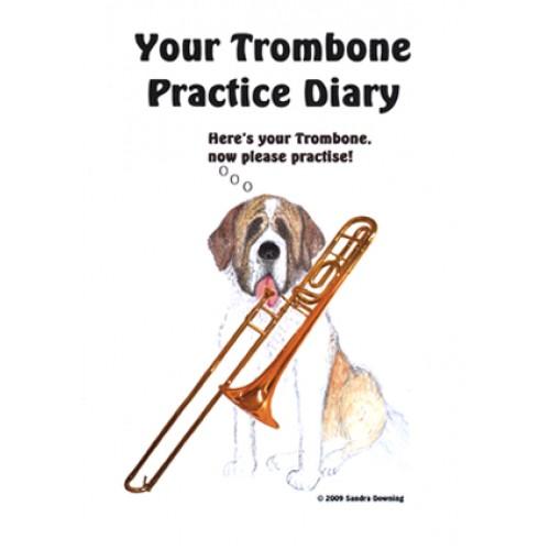 Trombone and St Bernard Practice Diary