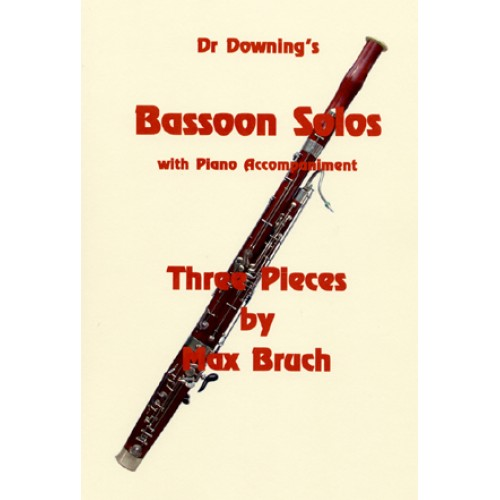 Bruch 3 Pieces Bassoon Solo