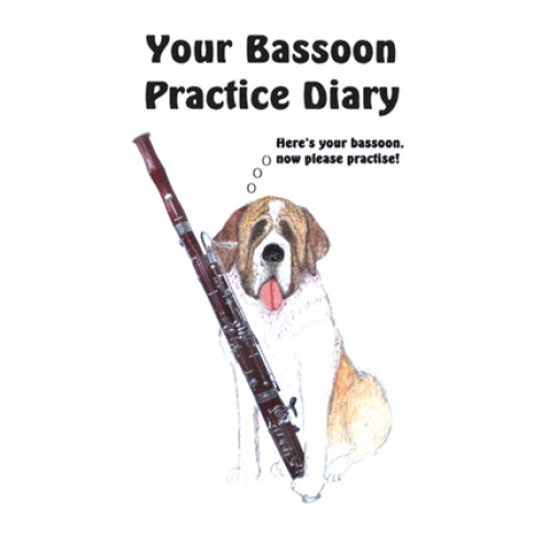 Bassoon and St Bernard Practice Diary